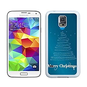 S5 Case,Merry Christmas Line Tree Samsung Galaxy S5 Phone Case,S5 I9600 TPU Cover Case