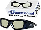 Best Dlp Link 3d Glasses - Adult DLP LINK eD Elite 144 Hz 3D Review