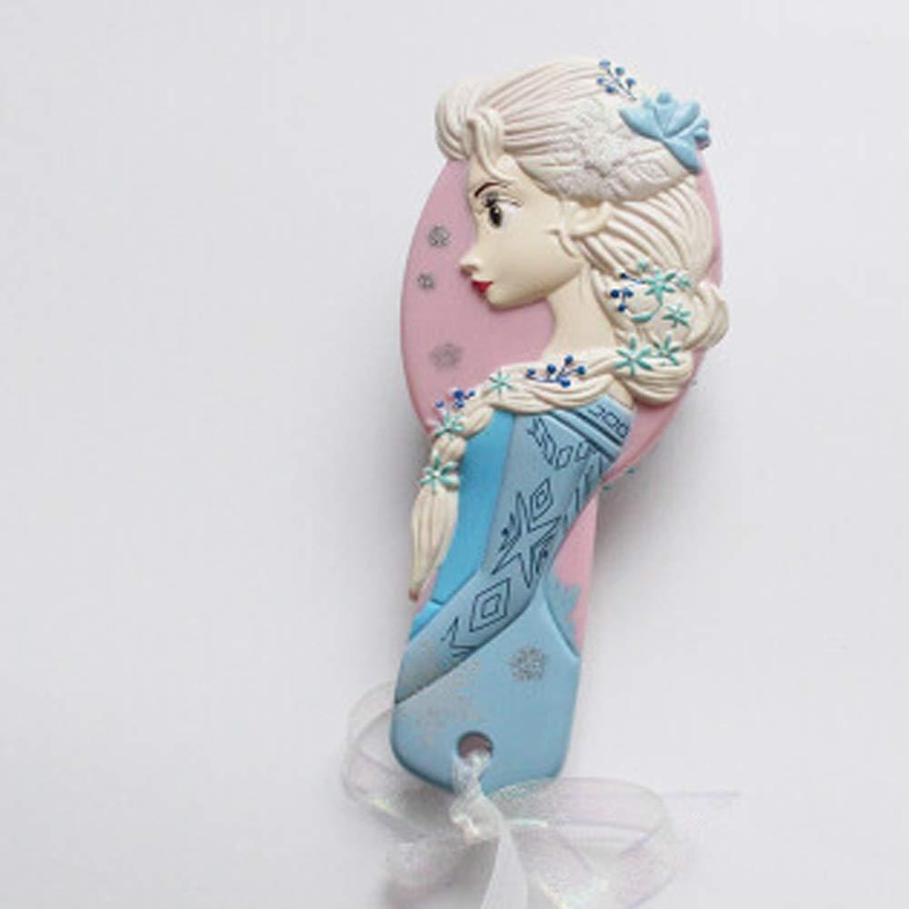 WUZHONGDIAN Comb, Princess Massage Comb Anti-static Cartoon Air Cushion Comb, Mermaid, Frozen, New Mermaid. (Color : Frozen) by WUZHONGDIAN