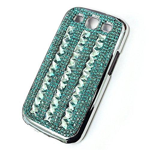 Swarovski Crystal Pattern Design Case Cover for Samsung Galaxy S3S