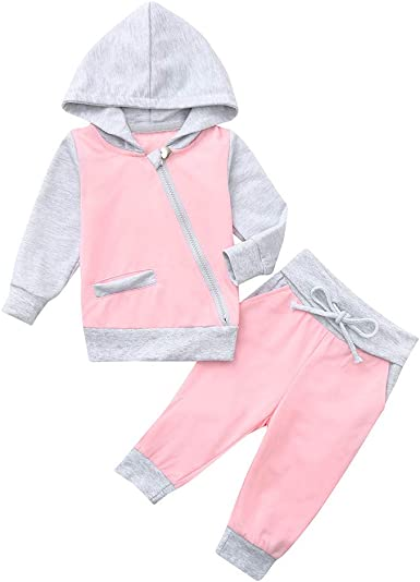 KaiCran Toddler Baby Boys Girls Long Sleeve Ear Hooded Romper Jumpsuit Casual Zipper Hoodie Clothes
