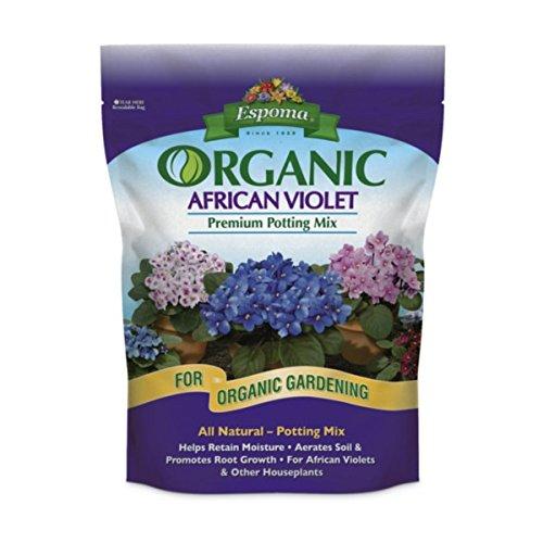 Espoma Organic African Violet Potting Mix, 4 QT