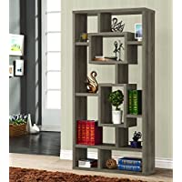 Coaster 800512 Home Furnishings Bookcase, Weathered Grey