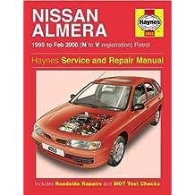 Nissan Almera Service and Repair Manual: N to V Reg (Haynes Service and Repair Manuals)