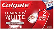 Colgate Luminous Pasta Dental White, 75 ml, Paquete de 2 Piezas