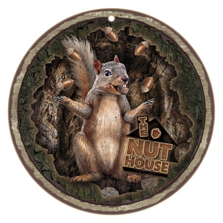 SJT ENTERPRISES, INC. The Nut House (Squirrel Throwing Nuts) 10