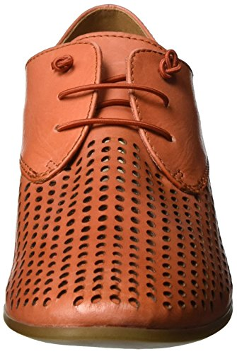 Caprice Arancione orange Donna Basse Nappa 23501 Scarpe Stringate Oxford rUx0qrYZw