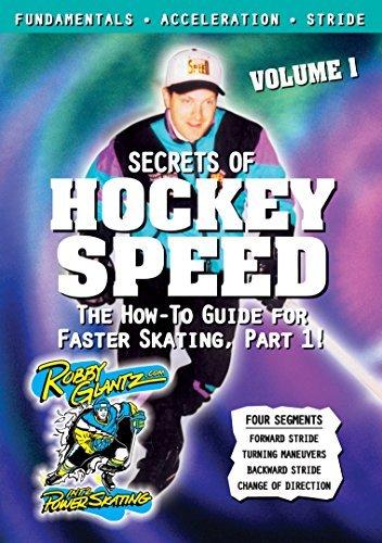Robby Glantz's Secrets of Hockey Speed Vol. 1 by Steve Duchesne, Tony Granato, Los Angeles Kings Robby Glantz