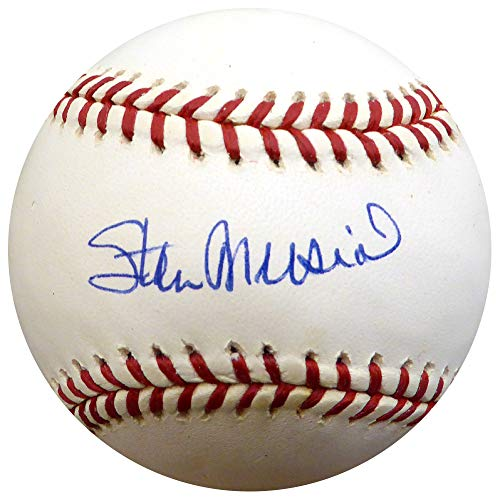 (Stan Musial Signed Official NL Baseball St. Louis Cardinals - PSA/DNA Authentic)