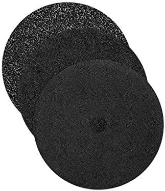 RETOL Doppel-Schleifscheiben, 406 mm, doppelseitig, Korn 16, f. Einscheibenmaschinen, Siliciumcarbid (5 Stk.)
