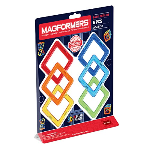 Magformers 6 pieces Magnetic Educational Construction