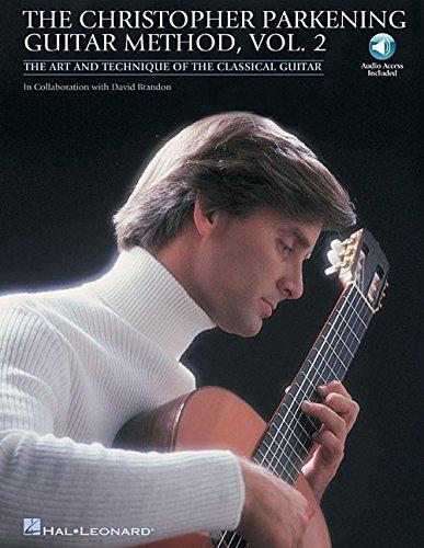 Christopher Parkening Guitar Method Volume 2 Book/CD