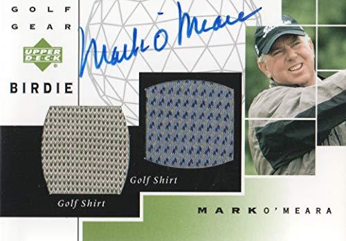 (2003 Upper Deck Golf Golf Gear Birdie Autographs #MO Mark O'Meara AUTO)