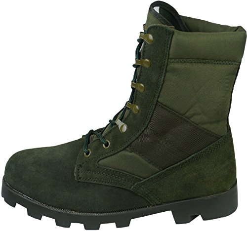 de Militares Tácticas de Botas la ejército la Jungla en Patrulla del Combate Verde E4AwwdqxF