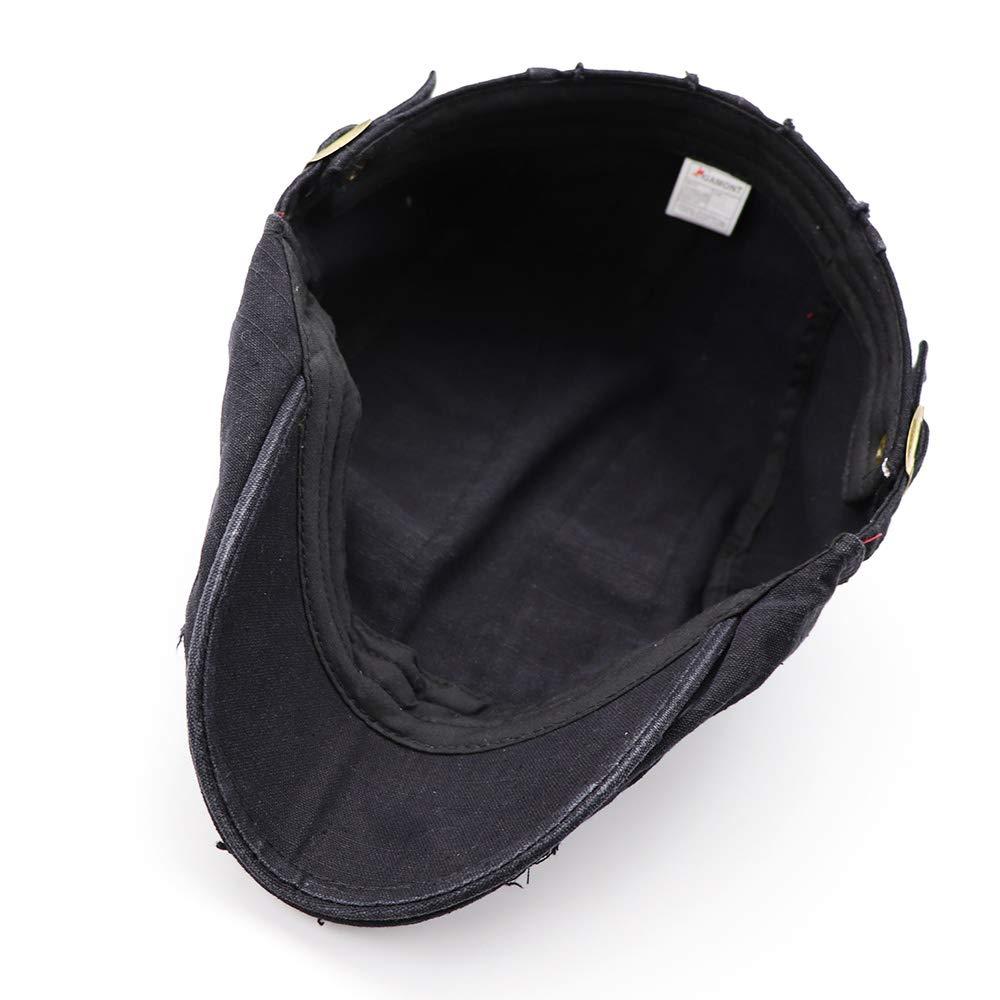 ZMCAPS Classic Gatsby Caps Flat Vintage Ivy Cotton Beret Hats