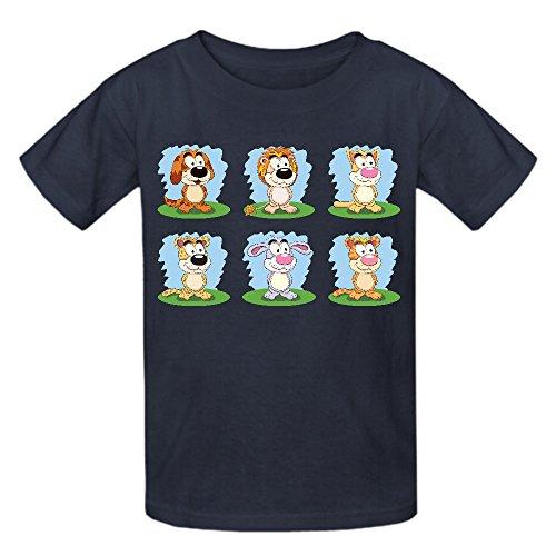 printed-cat-dog-tiger-lion-hare-leopard-kid-t-shirts-grey