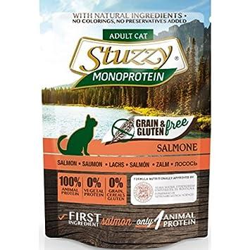 Stuzzy Grain Free Monoprotein Salmon Comida humeda para gatos: Amazon.es: Productos para mascotas
