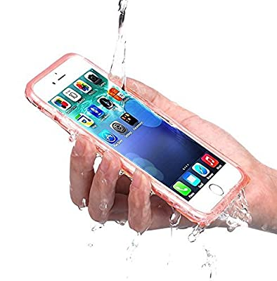 PISSION Waterproof Cases Full Protection Cover Transparent Bumper for iPhone 6/6S from PISSION