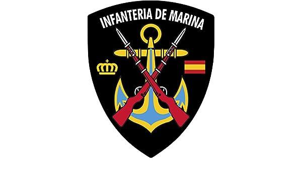 Artimagen Pegatina Escudo Pico Infanter/ía de Marina 40x60 mm.