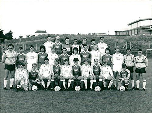 Vintage photo of Barnsley Football Club team (Barnsley Collection)