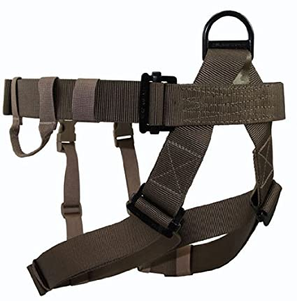 Amazon.com : ! OpGear WARRIOR Rappelling Harness - Black ...
