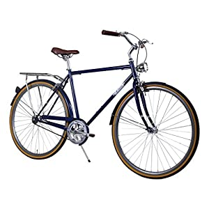 Zycle Fix 58cm Bike Fixed Gear Men Civic City Series Fixie Bicycle - NAVY