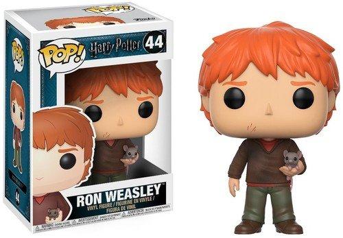 Funko Pop! Harry Potter - Ron con Scabbers