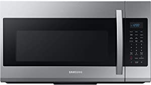Samsung ME19R7041FS 1.9 Cu.Ft. Stainless Steel Over-The-Range Microwave