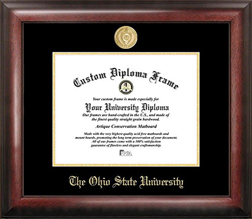 Ohio State University Buckeyes Home Office Diploma Picture Frame by Landmark Publishing