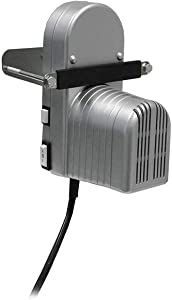 Weston 01-0103-W 2-Speed Motor Attachment for Manual Cuber/Tenderizer & Jerky Slicer,Silver