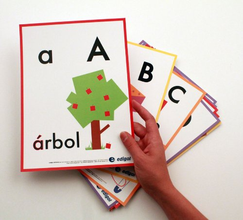 Amazon.com : Abecedario Spanish Alphabet Bulletin Board Set ...