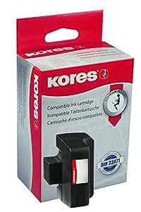 Kores Tinte für hp Photosmart C5180/C6280/C7280, schwarz, HC