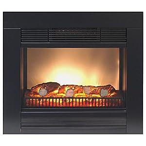 elektrischer kamin elektrokamin 1800w kamin ofen mit feuereffekt heizung heizl fter radiator. Black Bedroom Furniture Sets. Home Design Ideas