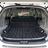 HUAXINXIN SUV Air Mattress Camping Bed,Outdoor SUV Dedicated Mobile Cushion Extended Travel Mattress Air Bed Inflatable for SUV Back Seat,Swimming Sea Beach,Holiday,Fit 95% SUV black ¡­