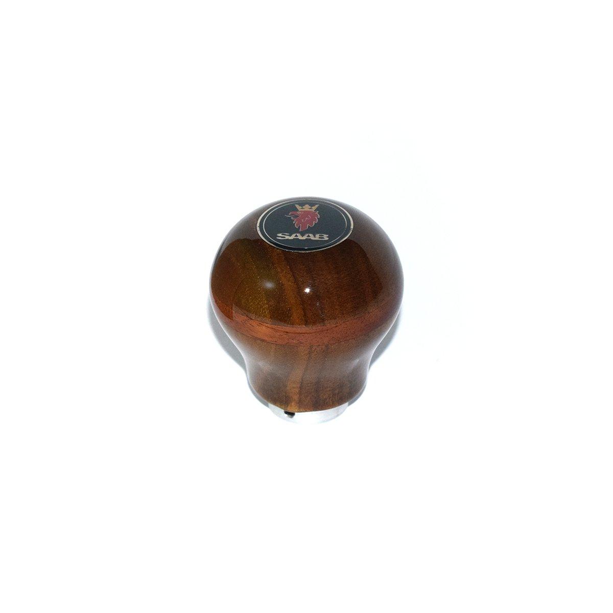SAAB Shift Knob (Walnut Striped Burl) 12mm