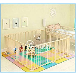 STAR Ibaby naturel – Parc de bébé XL, 8 pièces