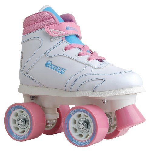 Chicago Girls Sidewalk Skate -白い Size 2 [並行輸入品]