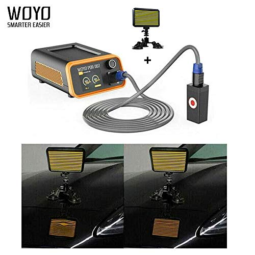 WOYO PDR007 Auto Body Paintless Dent Repair Tool with PDR Light Paintless LED PDR Light
