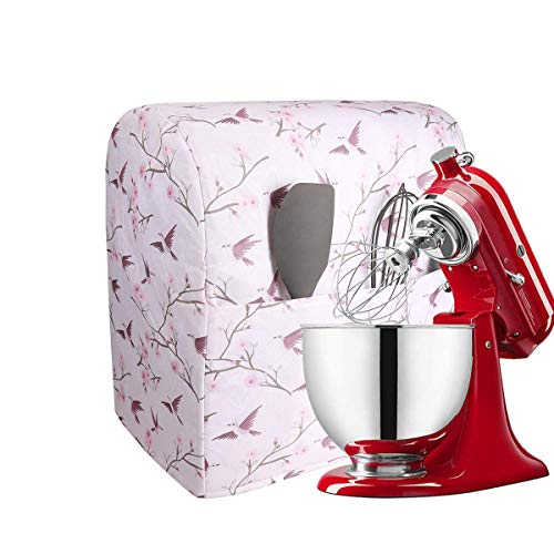 Stand Mixer Cover Dust-proof Organizer Quilted Kitchen Mixer Protector, Anti Fingerprint Mixer Covers,Cloth Cover with…