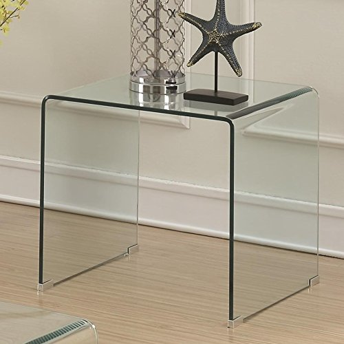 Coaster Home Furnishings 705327 End Table, Clear