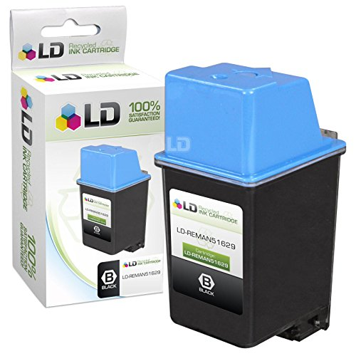 LD Remanufactured Replacement for HP 29 51629A Black Ink Cartridge for DeskWriter 600, 660, 680, DeskJet 692, 695, 697, Fax 910, 920, OfficeJet 500, 590, 635, 700, PSC 370, 380