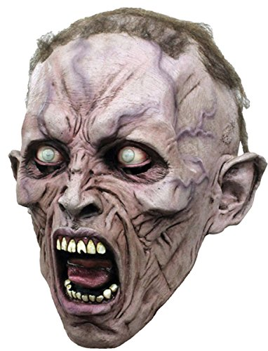 Ghoulish Productions Wwz Scream Zombie 2 3/4 Mask ()