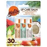 Malibu Blister Lipbalm with SPF30, Mango/Mint/ Tropical 12 ml