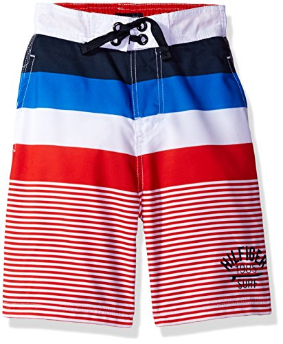 Tommy Hilfiger Overalls (Tommy Hilfiger Big Boys' Swim Trunk, Ripe Tomato, X-Large)