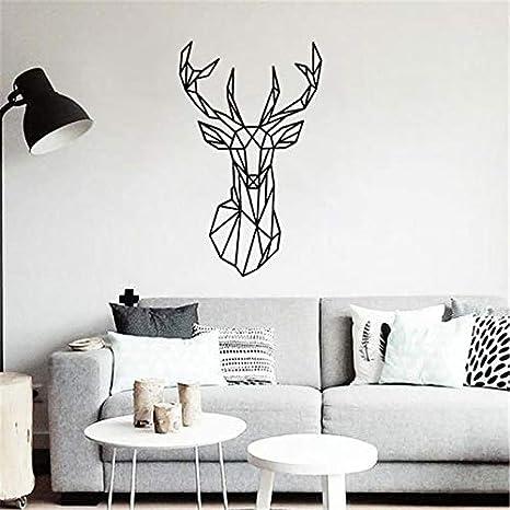Wall Decals Sticker Wall Stickers Decor Mural Wall Deer Geometric