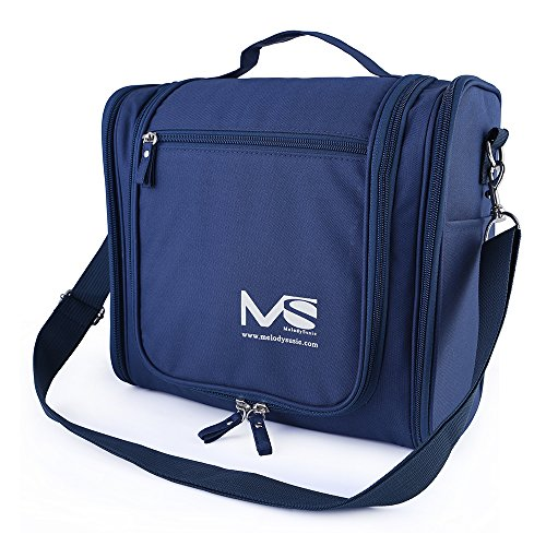 MelodySusie Large Hanging Travel Toiletry Bag Cosmetic Bags Women Men Waterproof Cosmetic Makeup Organizer Bag Shaving Kit