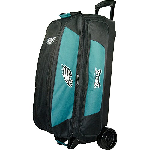KR Strikeforce Philadelphia Eagles Triple Roller Bowling Bag, Multicolor by KR