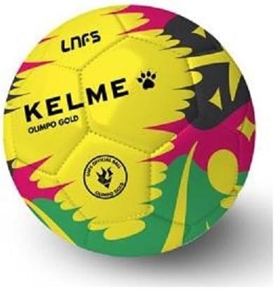 KELME Balón Fútbol Sala Olimpo Gold RÉPLICA - Temporada 2017/2018 ...