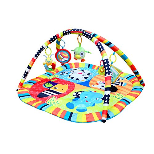 (Pevor Baby Musical Activity Play Mat Toy - Soft Blanket Toddler Crawling Pad for Newborn Toy Baby Girl Boy - Kick Play Gym)