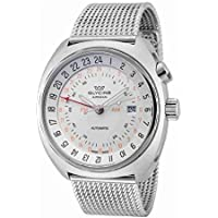 Glycine Airman SST 12 Automatic Mens Watch (Silver Dial)